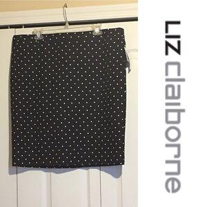 Liz Claiborne Polka Dot Skirt
